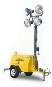 Lister-Petter Hawkpower 4000 Watt LIght Tower