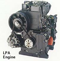 LPA2 and LPA3 Lister-Petter Engines