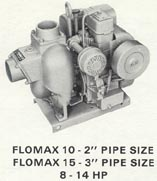 FLOMAX 10 & 15 Gasoline Engines