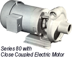 MP Series 80 with Electric Motor